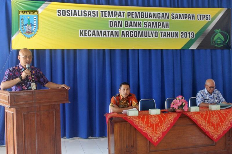 Sosialisasi Pengelolaan Sampah di Kecamatan Argomulyo