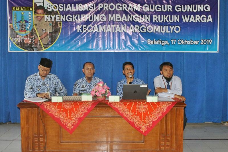 Sosialisasi Guyub RW Kecamatan Argomulyo
