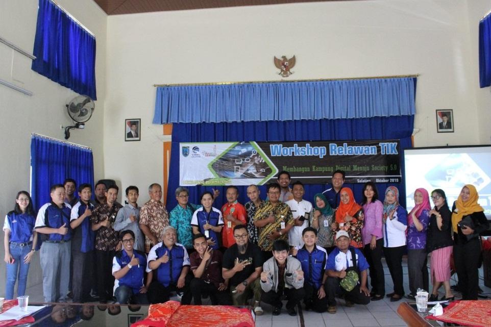 """Workshop Relawan TIK """"Membangun Kampung Digital Menuju Society 5.0"""""""